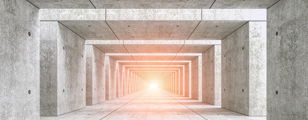 ¿La luz al final del túnel?